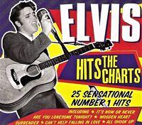 ELVIS HITS THE CHARTS - 25 SENSATIONAL No 1 HITS  (NEW SEALED CD) Elvis Presley