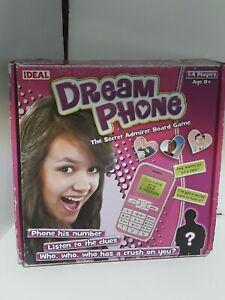 Dream phone secret admirer board game by ideal.