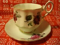 Elizabethan England Fine Bone China Tea Cup/ Saucer Hand Numbered #4385      357