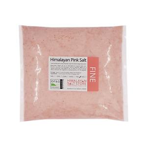 PINK HIMALAYAN ROCK SALT   1KG FINE   ORGANIC   Table Food Grade Natural Pure