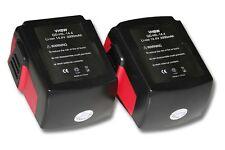 2x BATTERIE 3000mAh 14.4V pour Hilti SF 144-A CPC 14.4 V / SF144-A