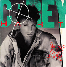 "COREY HART - NEVER SURRENDER + WATER FROM THE MOON 7"" SINGLE VINYL  SPAIN 1985"