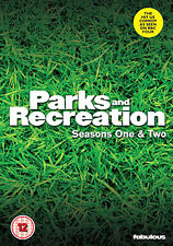 DVD:PARKS AND RECREATION - SEASON 1 AND 2 - NEW Region 2 UK