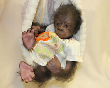 KiWi BaBy GoRiLLa MADE TO ORDER ~ REBORN DOLL SUPPLIES