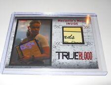 True Blood Prop Trading Card Merlotts Menu Inside #R4 244/299