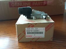 GENUINE TOYOTA FUEL INJECTION IDLE AIR CONTROL VALVE  OEM# 2227022041
