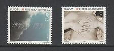 PEACE/FREEDOM - Croatia  - 1995 set of 2 (SC 239-40) -MNH-Y671