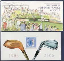 bloc  souvenir   n° 13 ,  sport  open de golf    2006