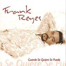 Cuando Se Quiere Se Puede by Frank Reyes (CD, Mar-2004, J & N Records)