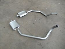 HOLDEN HK HT HG GTS MONARO 253 308 DUAL SYSTEM ENGINE PIPES AND RESONATORS