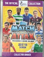 match attax SPFL 17/18 packs of 30 random base cards (including a shiny)