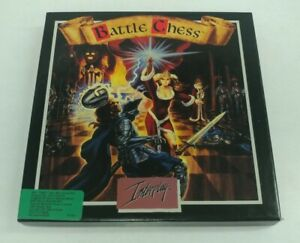 Vintage IBM Tandy Software Game By Interplay Battle Chess Animated Game Of Chess