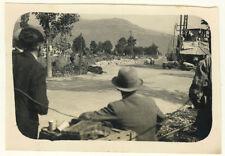 PhotoAnonyme Course Auto Argentique Vers 1920