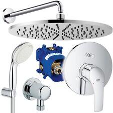Grohe & Ideal Standard Unterputz Duschsystem mit Kopfbrause, Eurosmart Idealrain