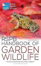 RSPB Handbook of Garden Wildlife by Peter Holden and Geoffrey Abbott | Paperback