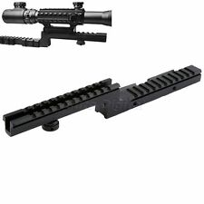Z Type Bi-Level Carry Handle Picatinny Weaver 20mm Rifle Scope Rail Mount Base