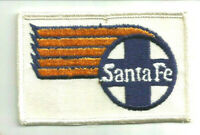 Santa Fe RAILROAD employee engineer conductor fireman patch 2-1/4 X 3-1/2 #161