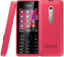 BRAND NEW NOKIA 301 RED **UNLOCK** 3G MOBILE PHONE
