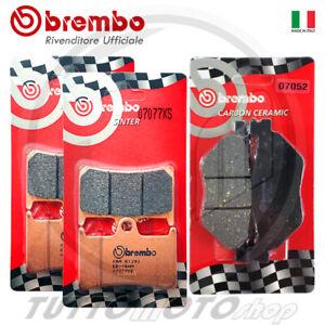 KIT PASTIGLIE FRENO BREMBO TMAX 530 2012 2013 2014 ANTERIORI + POSTERIORI T-MAX