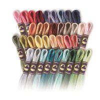 DMC Color Variations 100% Cotton Cross Stitch Threads Skeins 4010 to 4240 8m