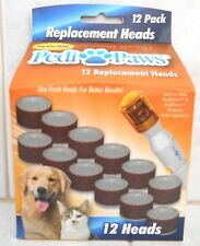 PEDI PAWS 12 REPLACEMENT HEADS