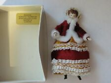"Vintage Ooak Doll Mrs. D. Thornton Porcelain Head, Hands, Feet 4 1/2"" England"