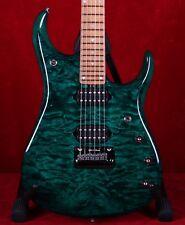 Ernie Ball Music Man John Petrucci JP15 Teal Green Quilt Electric Guitar