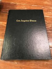1st Edition Black Front Page 100 YEARS of the LOS ANGELES TIMES 1881-1981