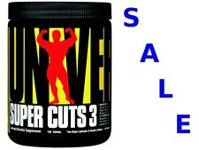 UNIVERSAL NUTRITION SUPER CUTS 3 130tab.  WEIGHT LOSS  FAT BURNER DIET PILLS