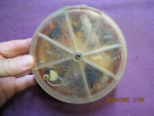 Vintage Luhr Jensen & Sons Fly Box with 18 Flies