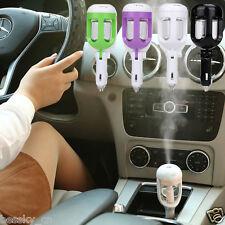 Automatic Mini Car Humidifier Air Purifier Freshener Travel Car Portable 50ml