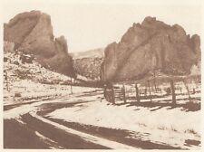 G0706 Paysage du Colorado - Stampa d'epoca - 1926 old print