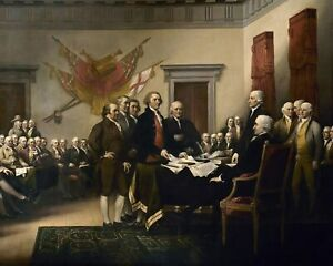 Signing Declaration of Independence U.S. History July 4, 1776 8 x 10 Photo ph5