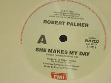 "ROBERT PALMER *RARE 7"" 45 ' SHE MAKES MY DAY ' 1988 EXC"