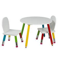 Kindermaltisch Kindersitzgruppe Spieltisch Maltisch 1x Tisch 2x Stuhl für Kinder