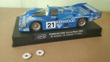 SLOT 1:32  Slot it Porsche 956C  24h Le Mans 1983 Kenwood mint box