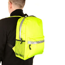 Adults Mini Hi-Vis Reflective High Visibility Cycling Biking Backpack Rucksack