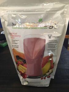 Exp 1/2022!! NEW Shakeology Vegan Strawberry 30 Day Bag FREE SHIPPING!!