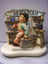 Hummel Generations Of Excellence w/ Merry Wanderer Mib w/collectors' club disk
