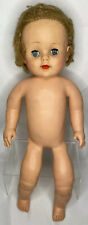 "Eegee 16"" Baby Doll Soft Vinyl Eyes Open/Close Caucasian White Vintage Rare"