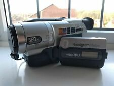 Sony CCD-TRV208E Hi8 Camcorder Mint Condition Fully Tested Plays 8mm Hi 8
