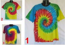 TIE DYE MENS T SHIRT TYE HIPPIE SIZES XS S M L XL 2XL 3XL RAINBOW RETRO T-SHIRT