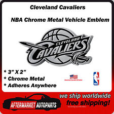 Cleveland Cavaliers NBA Chrome Metal Car Auto Emblem Team Decal Logo Ships Fast