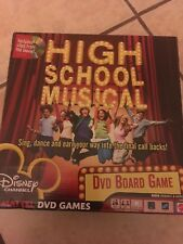HIGH SCHOOL MUSICAL DVD BOARD GAME 2006