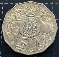 2010 AUSTRALIAN 50 CENT COIN - C.O.A COAT OF ARMS SHEILD EMU CUD ERROR *3