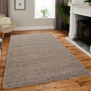 Thick Pile Shaggy Rugs Hallway Runner Non Slip Living Room Bedroom Floor Carpet