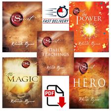 Rhonda Byrne 5 Book Set :The Secret / Power / Magic / Daily Teachings📚 [P.D.F]