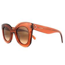 42feed5c1cf3 Celine Sunglasses 41393s Baby Marta EFB PP Dark Orange Brown Gradient