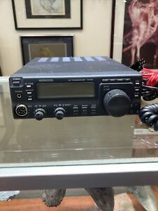 Kenwood TS-50S Ham Radio Transceiver with mic and power cable Working Great