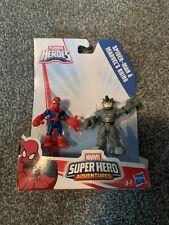 Playskool Heroes Spider-man and Rhino